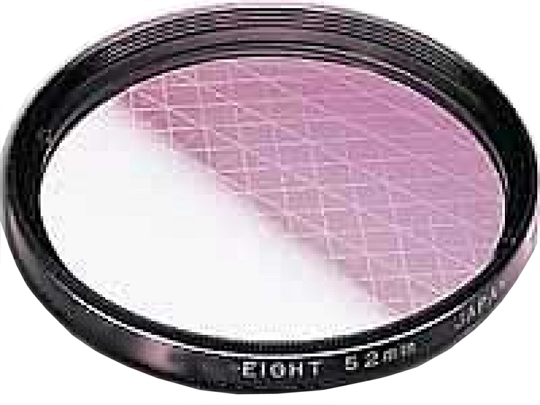 27mm Gitter 6x (CROSS) Special Effect Lens Filter AICO