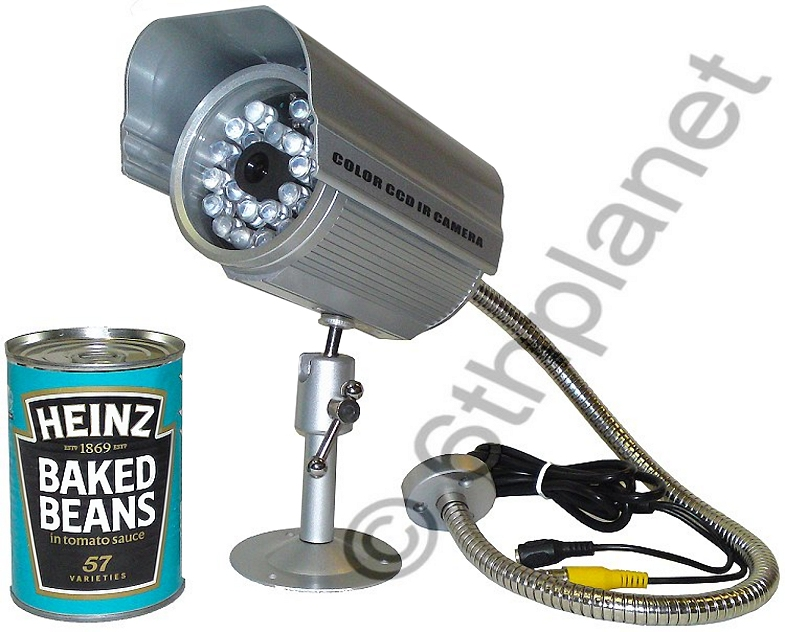 Professional 30m Outdoor Colour CCTV Wired Camera by Sentient