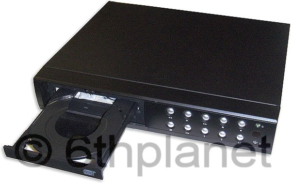 9-Channel CCTV Hard Disk Digital Video Recorder (DVR) with CD Re-write