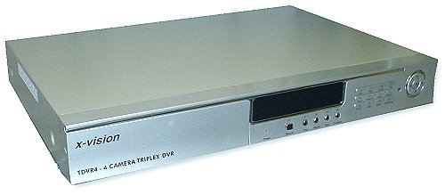XVision TDVR4 - 4 Channel Triplex Digital Video Recorder with 250Gb di