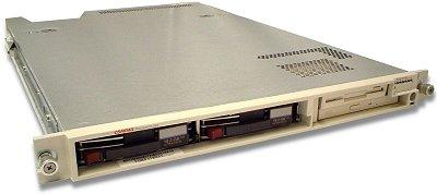 Compaq Proliant DL360 1U Rackmount Server, Dual Pentium III 1GHz 133MH