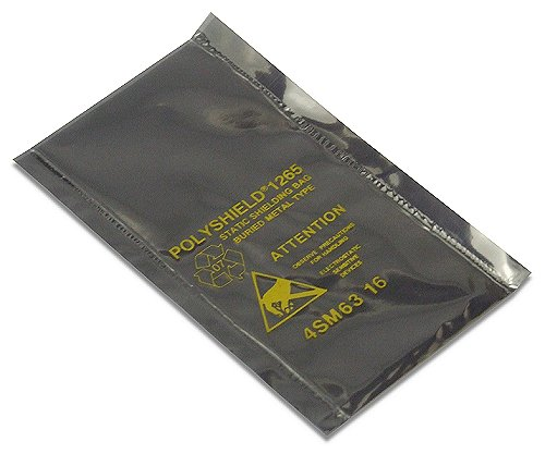 10x Polyshield 4SM63-16 Type 1265 Static Shielding Bag, Buried Metal T