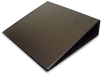Box of 10 50mm 2 ring Binders. Black Vinyl Finish. new & Boxed.