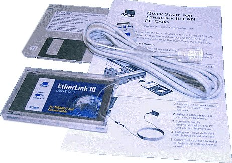 3Com 3C589C PCMCIA LAN card